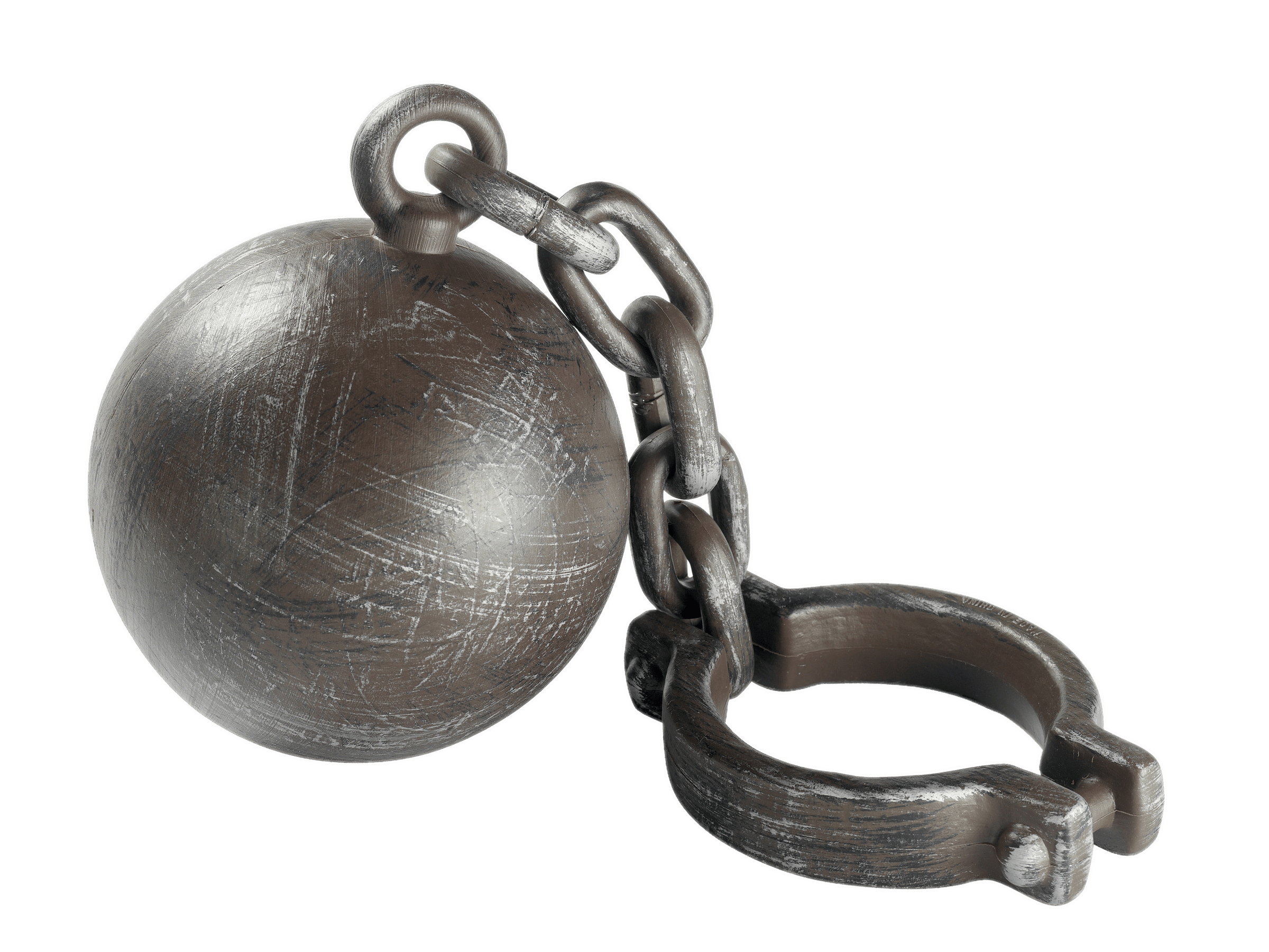 Halloween Ball and Chain transparent PNG.
