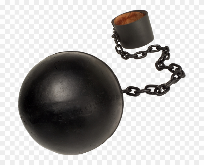 Ball And Chain Png.