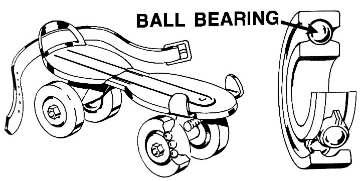 Copper Ball Bearing Clipart.