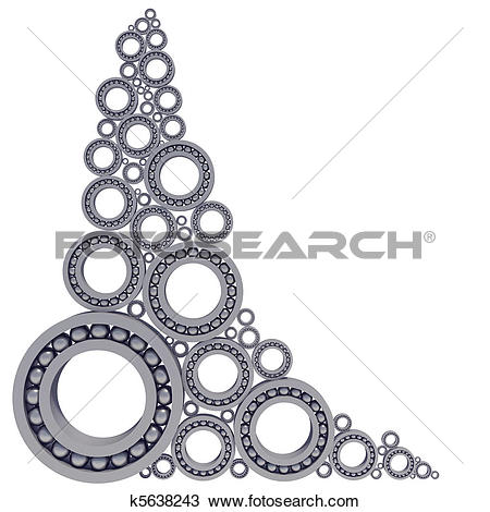 Ball bearings clipart #9