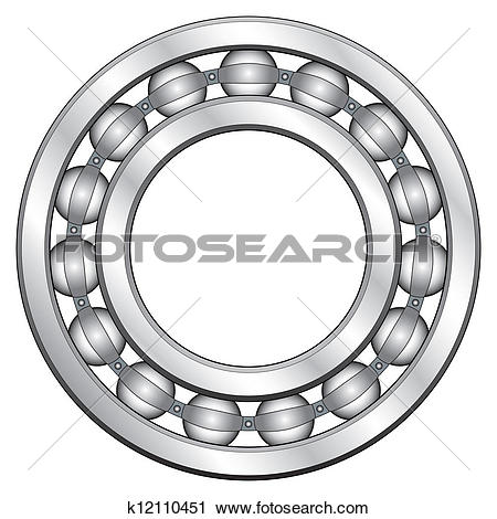 Clipart of Ball bearing k12110451.