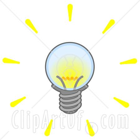 Light ball clipart #15
