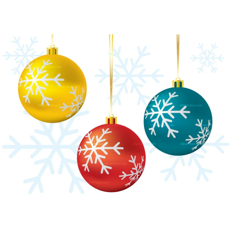 Christmas Ball Clipart.