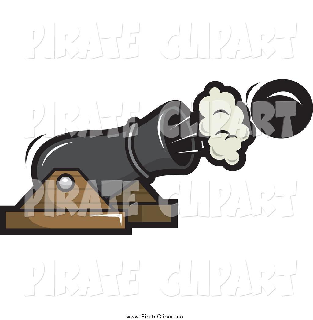 Pirate Cannon Clipart.