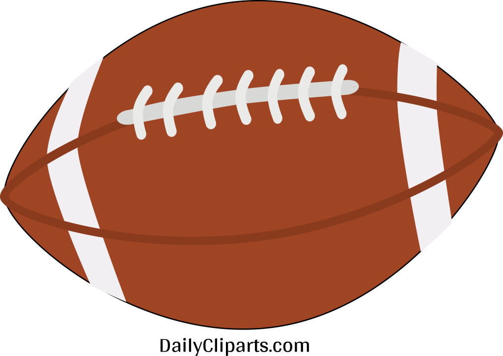 Rugby Ball Clipart Icon Image Free.