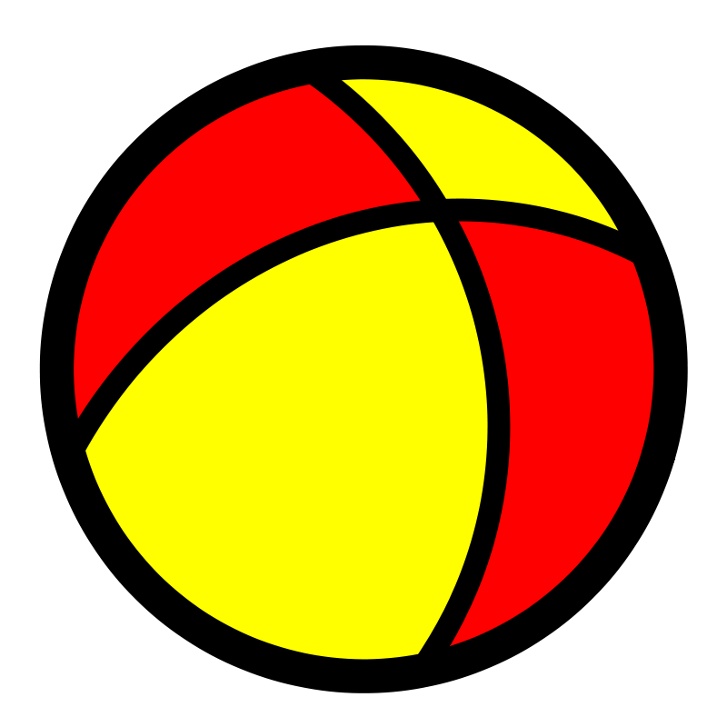 Free Clipart: Ball icon.
