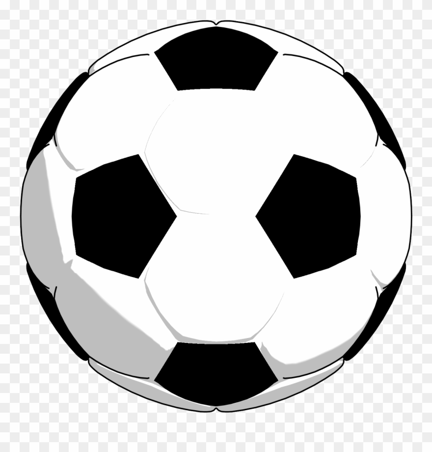 Black White Soccer Ball Clipart Png Picture Clip Art.