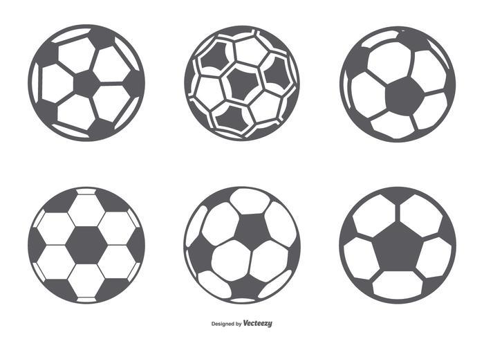 Soccer Ball Icon Collection.
