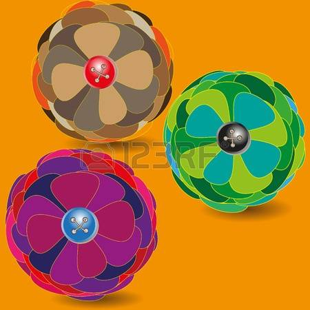 118 Vector Red Ball Flower Stock Illustrations, Cliparts And.
