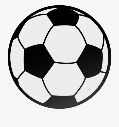 Football Black And White Image Of Football Clipart.