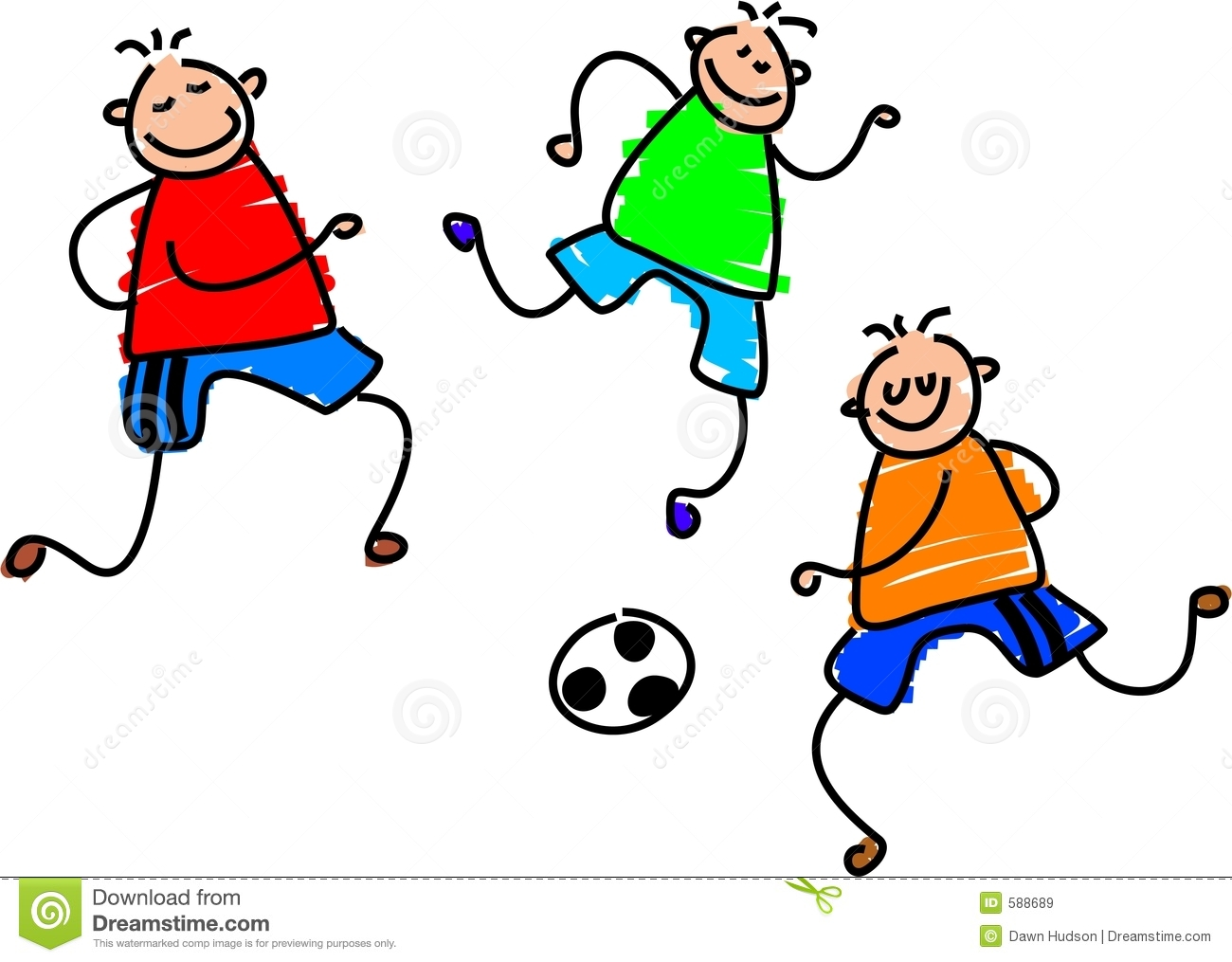 Soccer Game Royalty Free Stock Images.