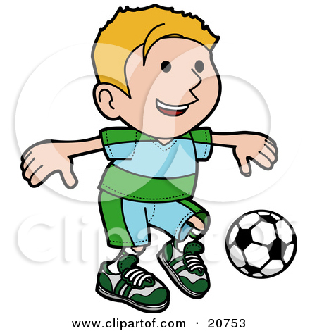 Soccer Game Clipart.