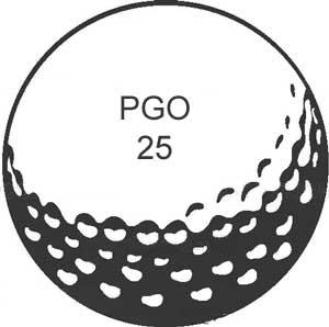 Golf ball golf border clip art.