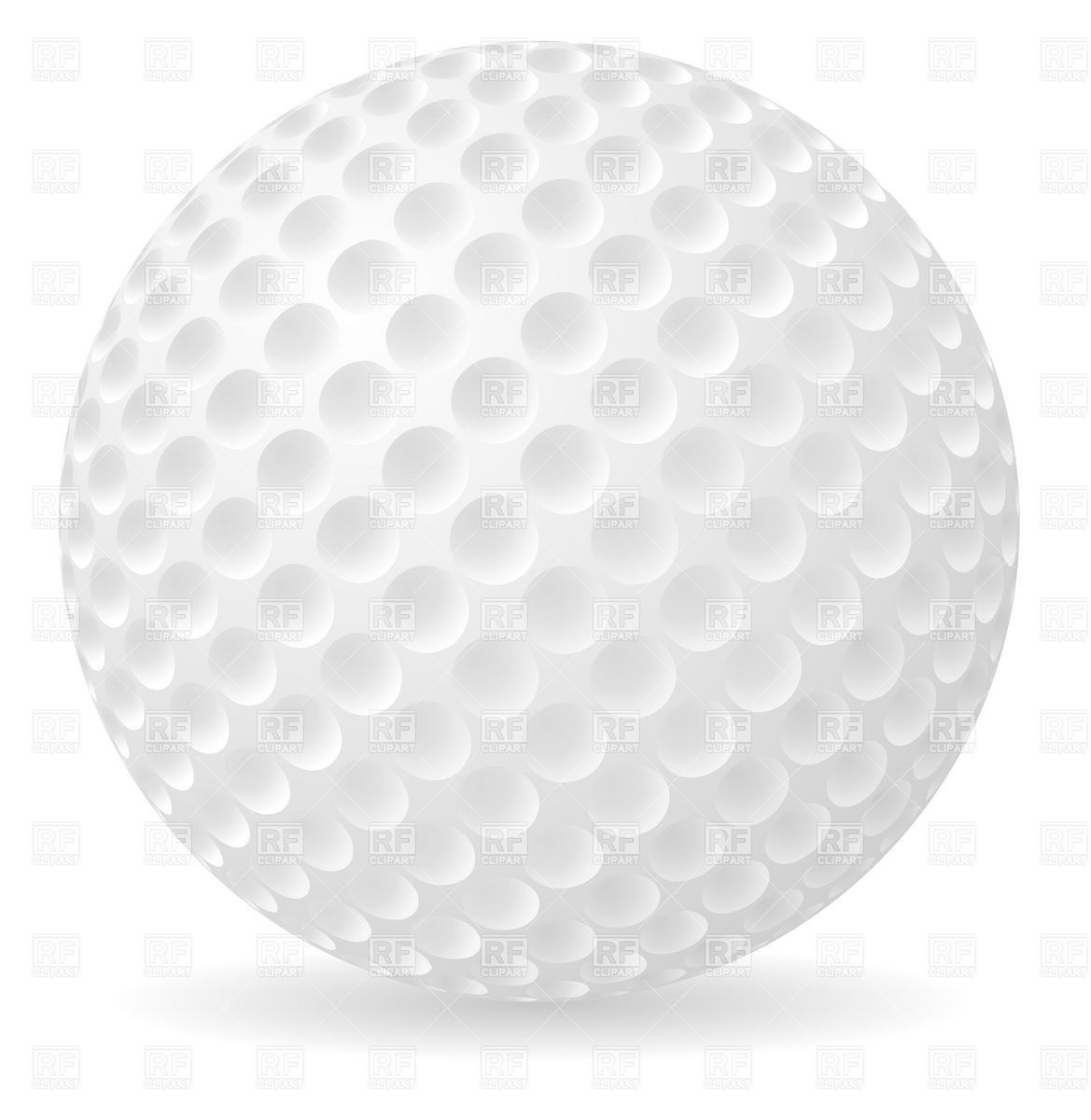 Golf ball pictures of golf clubs and balls clipart.