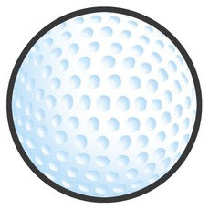 Golf ball free golf clipart and animations.