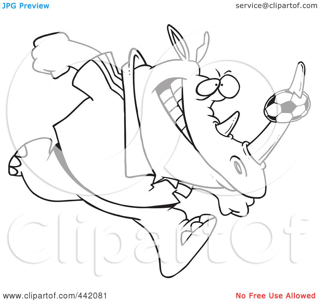 Rhino Horn Clipart.