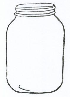 free mason jar tempplates.