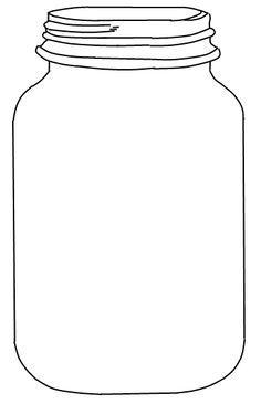 Ball jar clipart.