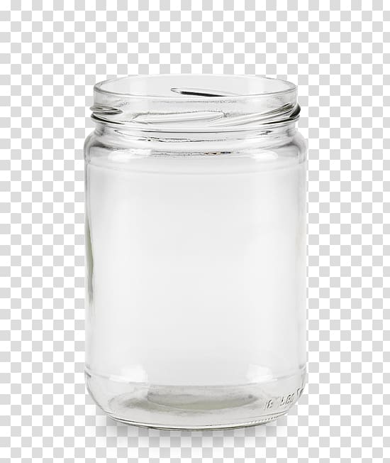Glass bottle Lid Mason jar, glass transparent background PNG.