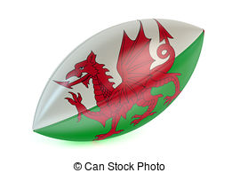 Welsh rugby clipart.