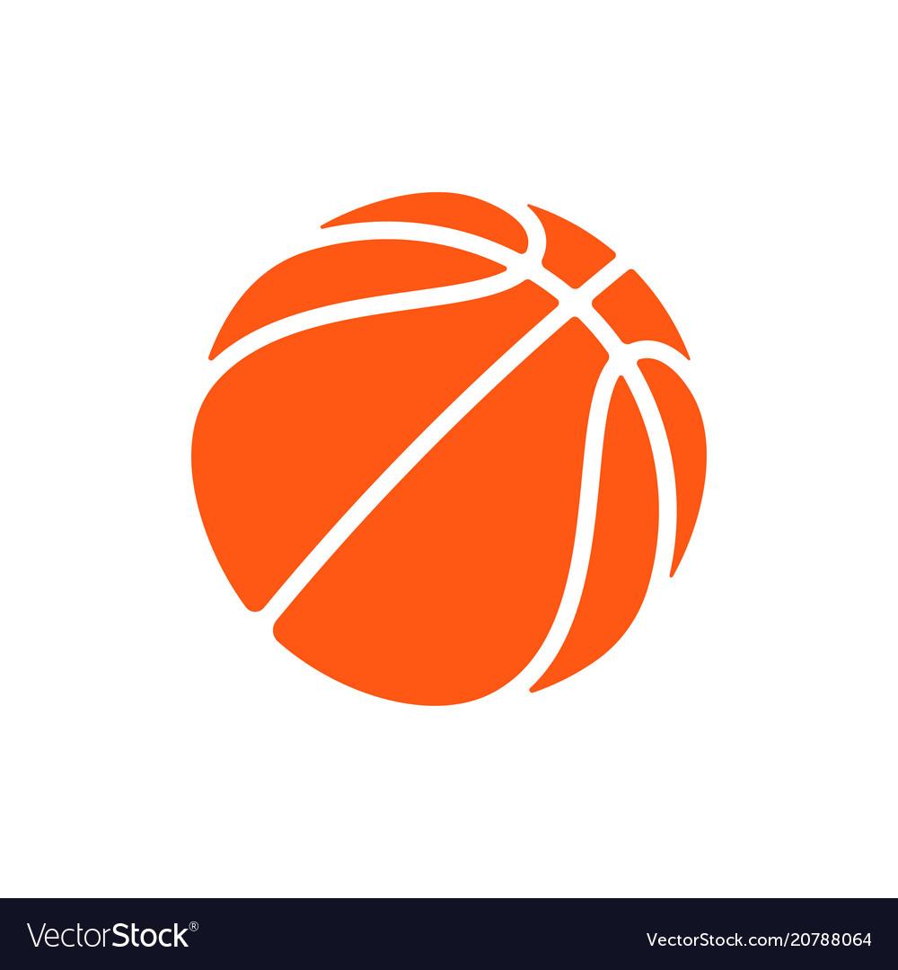 Basketball logo icon streetball.