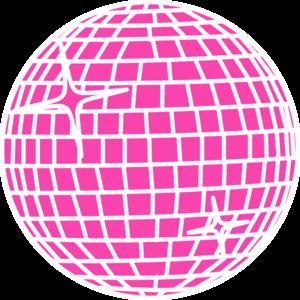 Pink Mirror Ball.
