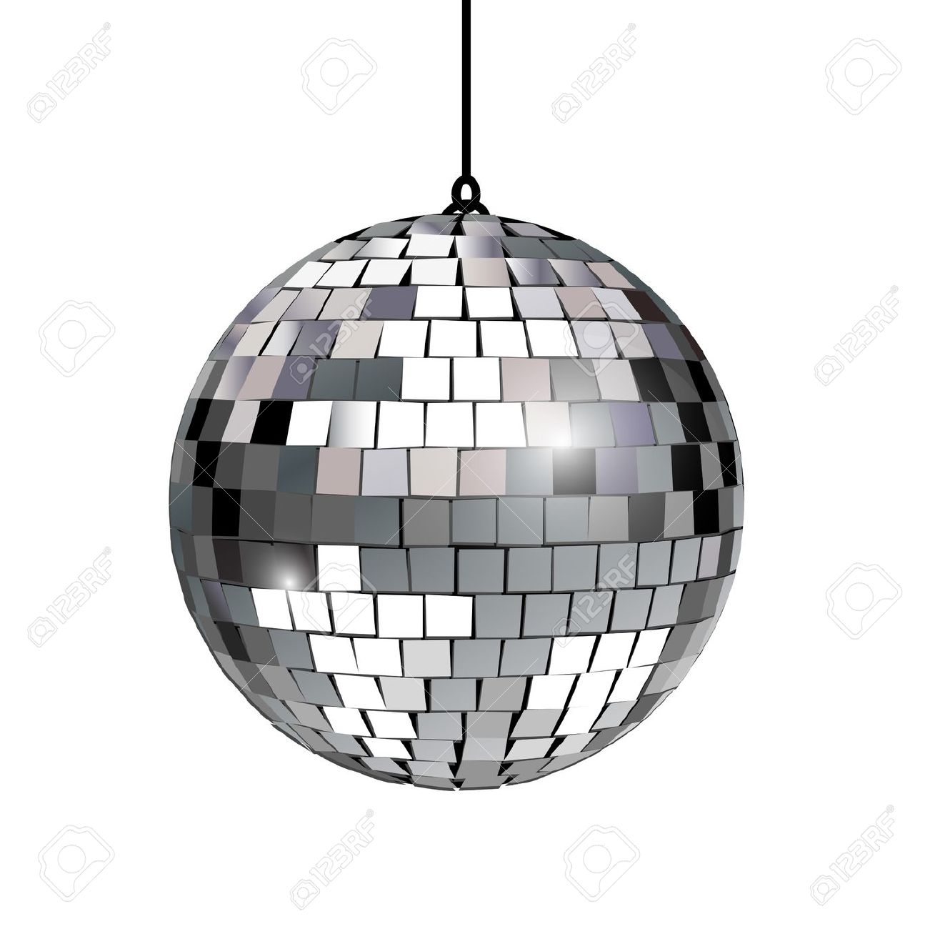 Mirror ball clipart.