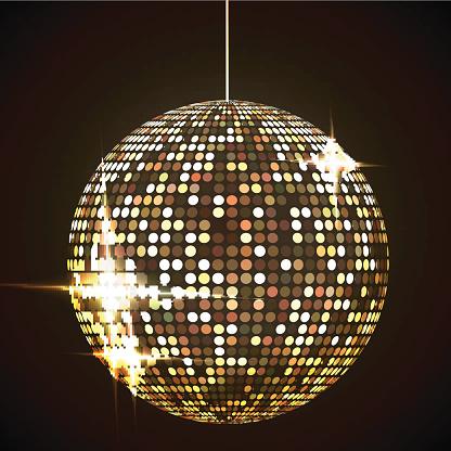 Disco Ball Clip Art, Vector Images & Illustrations.