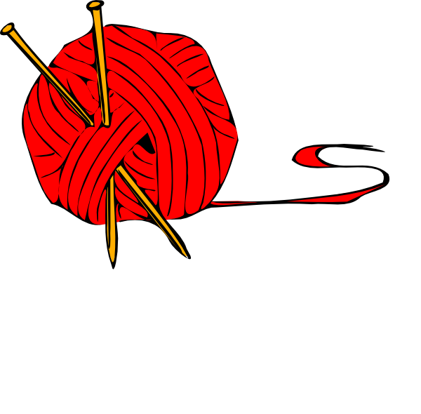 826 Knitting free clipart.