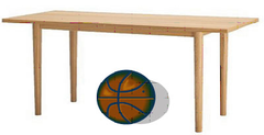 Ball under the table clipart 1 » Clipart Station.