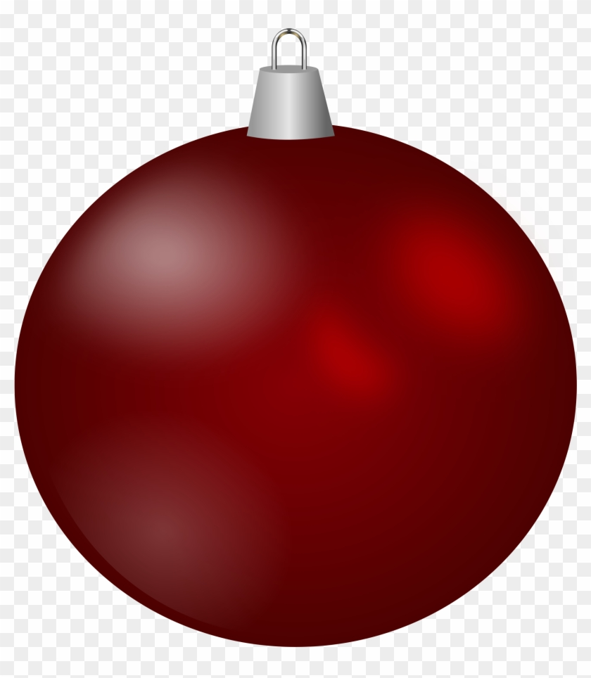 christmas ornament Clipart christmas ball red ornament free png.