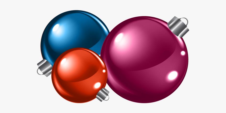 Christmas Ball Ornaments Png Image.