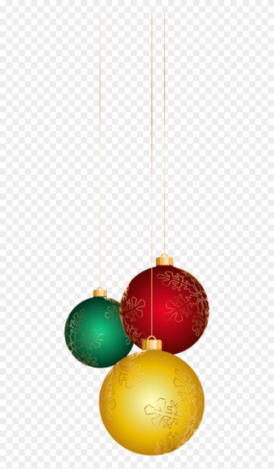 Christmas Balls Png.