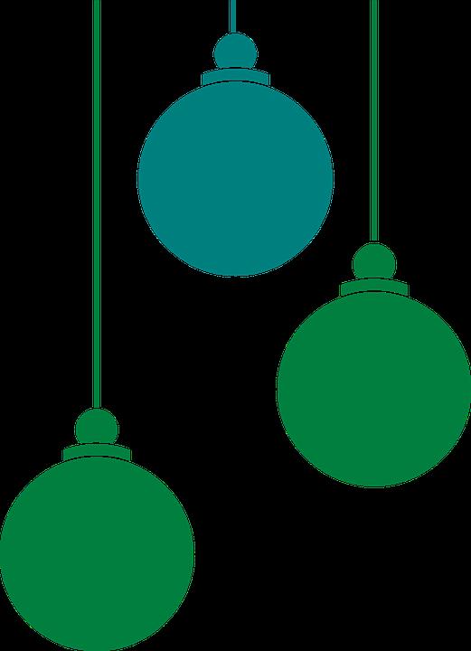 HD Christmas Ornaments Clipart.