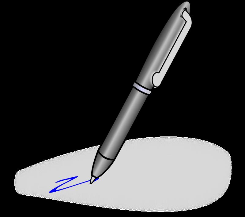 Ballpoint Pen Clipart.