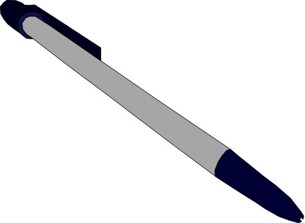 Ballpoint pen clip art.