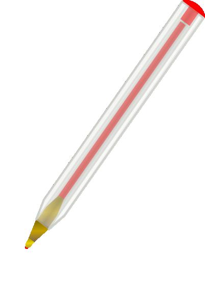 Red ballpoint pen clip art at clker com vector clip art.