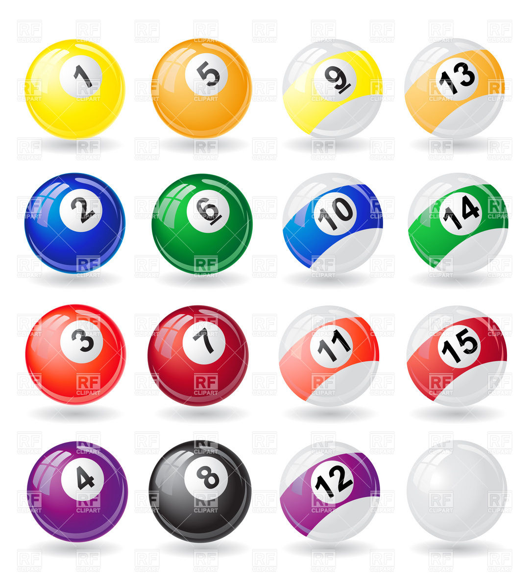 Billiards 8 Ball Pool Rack Clipart Free Clip Art Images #YDXZTj.