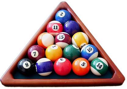 Clipart pool balls.