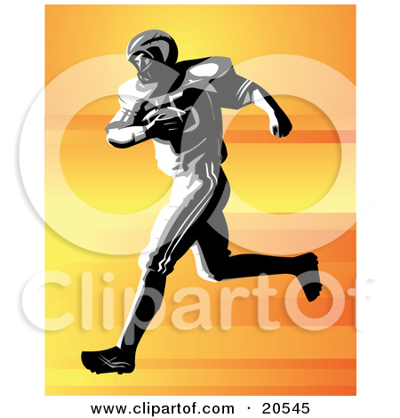 Clipart Illustration of a Racing Green 3d Man Sprinting During A.