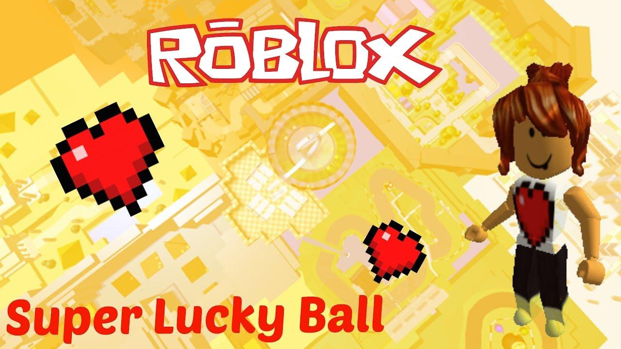 Roblox / Super Lucky Ball Race / GPChocolateGirl.