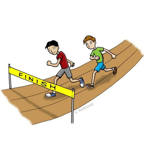 Field Day clip art from PTO Today clip art gallery..