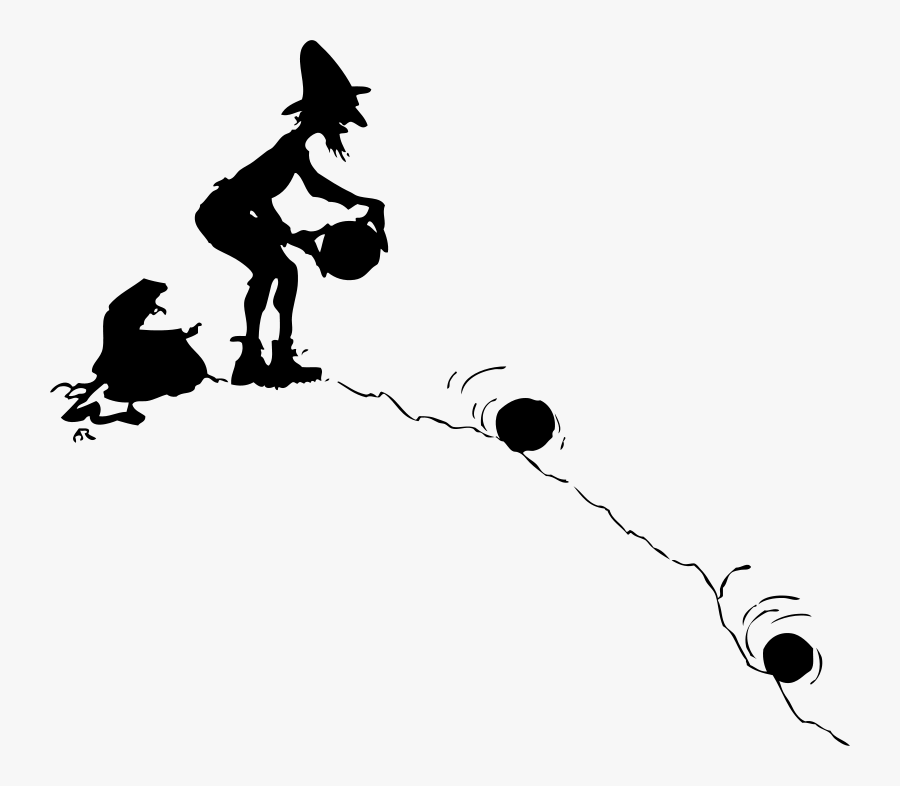 Ball Rolling Clipart Black And White , Free Transparent.