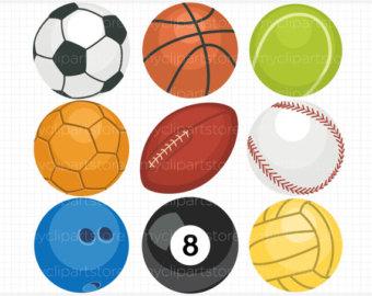 Sports ball clipart.