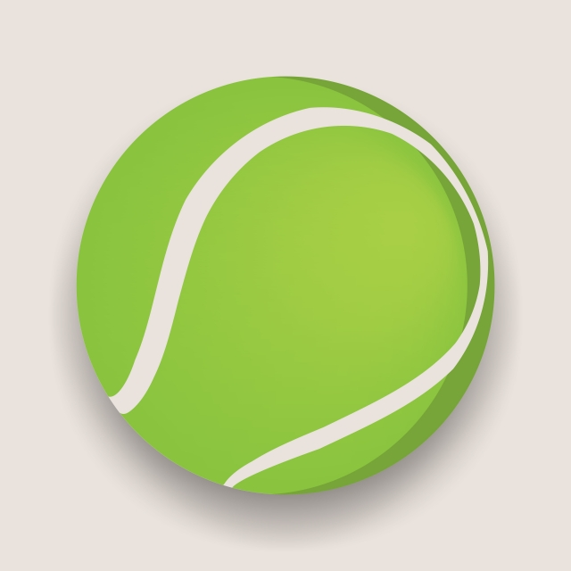 Tennis Ball, Tennis, Ball, Vector PNG and Vector with Transparent.