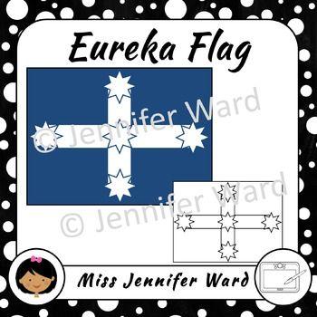 Eureka Flag Clipart.