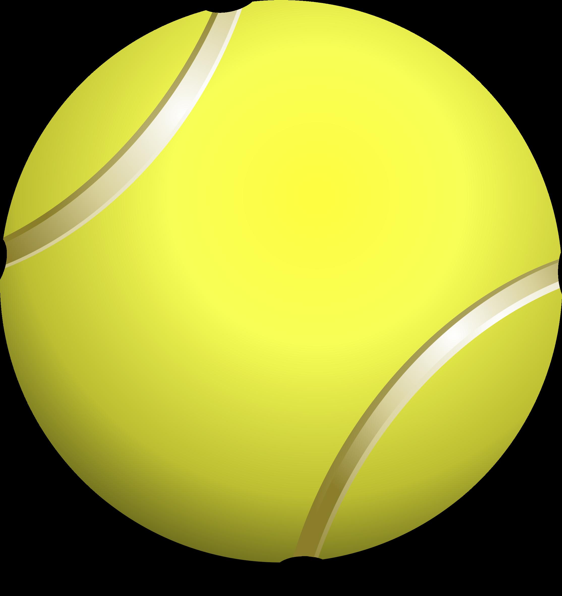 Clipart tennis ball, teniso kamuoliukas #1794.
