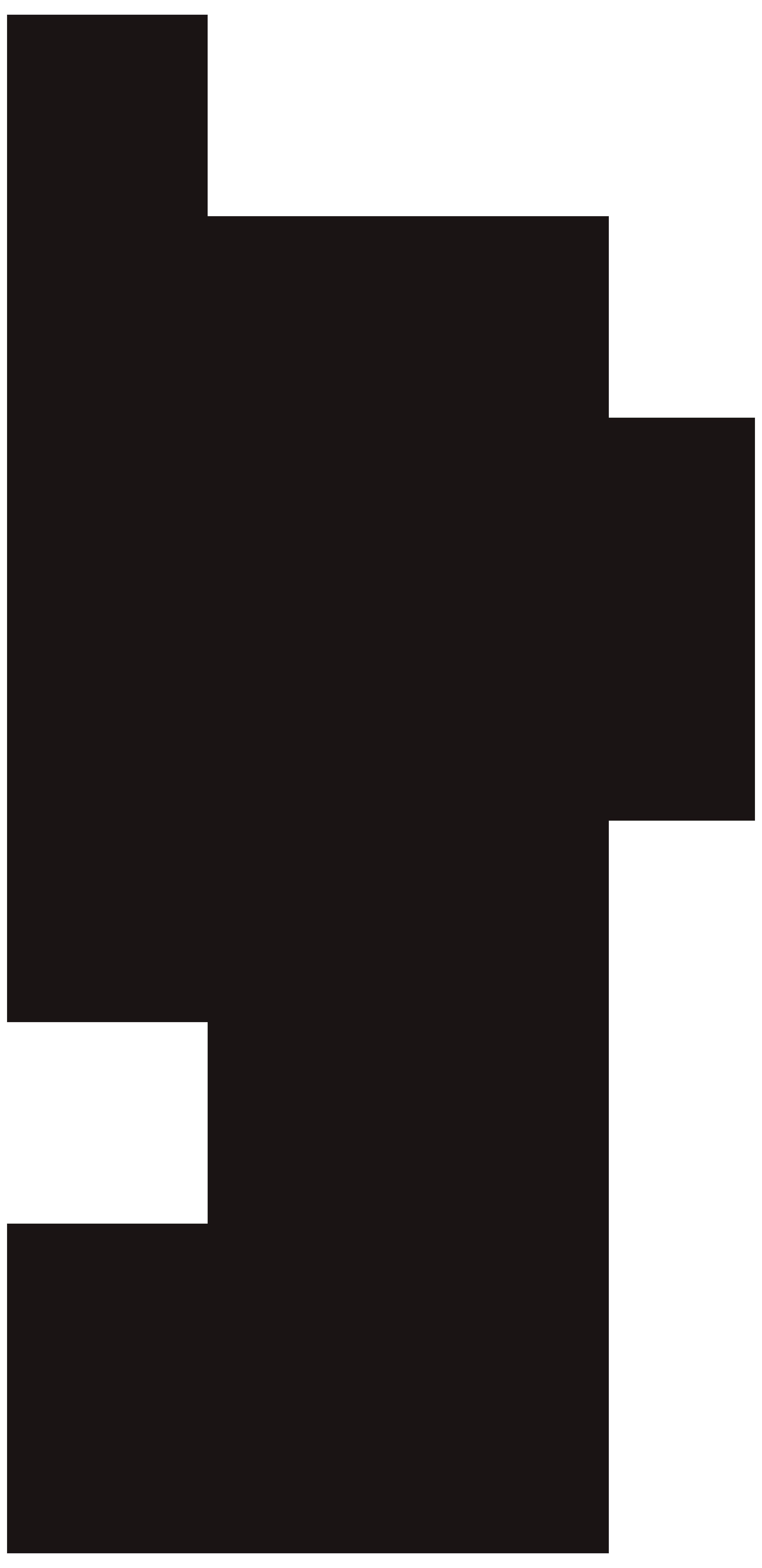 Ballerina Silhouette PNG Clip Art Image.