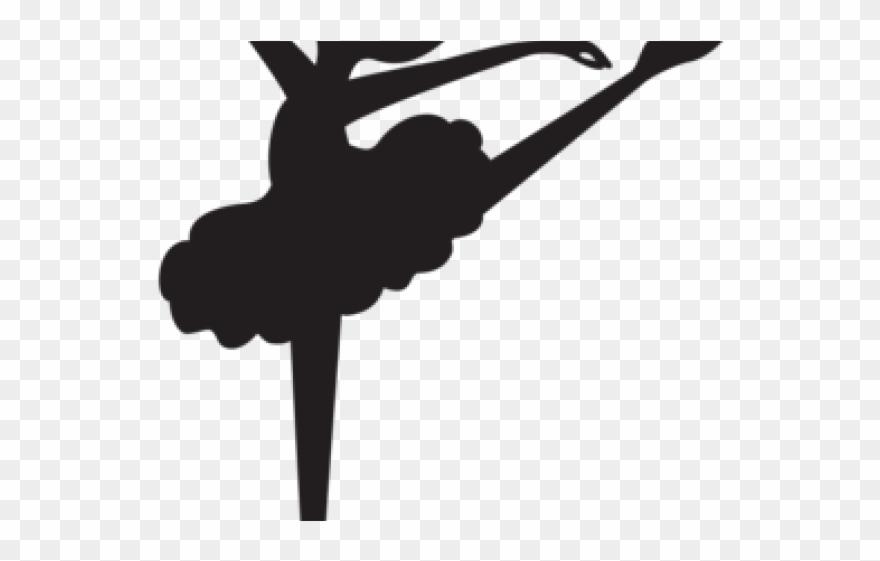 Ballerina Clipart Black And White.