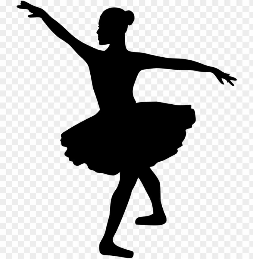 ballet dancer silhouette tutu.